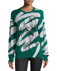 Risto - Evil Tree Long-Sleeve Sweater - Lyst