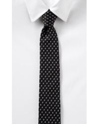 Express Narrow Silk Tie - Hashtags - Lyst