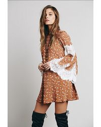 Free People Floral Festival Dress - Lyst