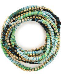 Alyssa Norton - Silk Rhinestone Wrap - Lyst