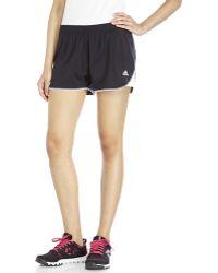 Adidas Black Varsity Shorts black - Lyst