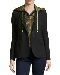 Veronica Beard Classic Jacket With Camo Dickey - Lyst