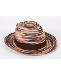 Paul Smith   Men's Taupe 'space Dye' Trilby Hat   Lyst