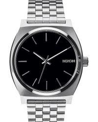 Nixon | Time Teller Black Watch | Lyst