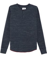 Reigning Champ Long Sleeve Henley - Lyst