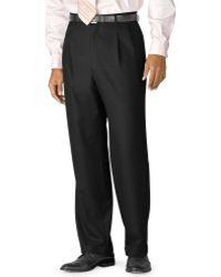 Lauren by Ralph Lauren Dress Pants 100 Wool Double-reverse Pleat Big and Tall - Lyst