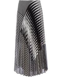Sharon Wauchob - Long Striped Pleated Skirt - Lyst
