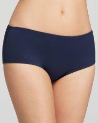 DKNY Street-Cast Solids Scuba Short Bikini Bottom - Lyst