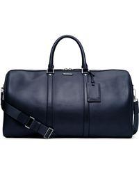 Michael Kors - Warren Leather Travel Duffel Bag - Lyst