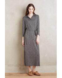 Dolan - Sarana Belted Maxi Dress, Grey - Lyst