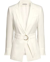 H&M Jacket With A Belt - Lyst