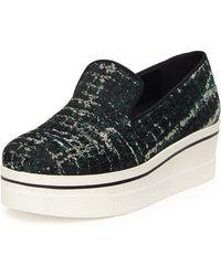 Stella McCartney Tie Dye Jacquard Skate Shoe - Lyst