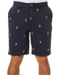Vans The Dewitt Monogram Palm Shorts - Lyst