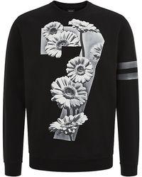 Diesel Floral 78 Print Sweater - Lyst