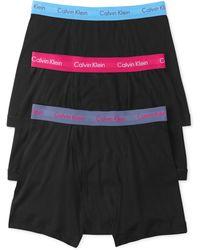 Calvin Klein Mens Cotton Classic Boxer Briefs 3-pack - Lyst