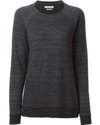 Isabel Marant Gray Nyda Sweater - Lyst
