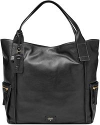 Fossil Emerson Leather Tote - Lyst