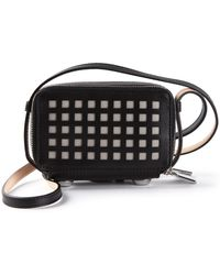 Reed Krakoff Perforated Squares Cross Body Bag - Lyst