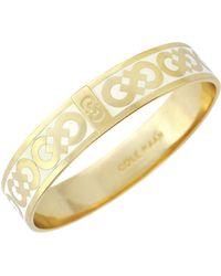 Cole Haan - Logo Bangle Bracelet - Lyst