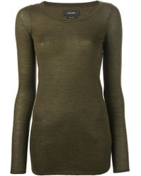 Isabel Marant Fitted Top - Lyst