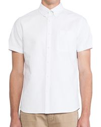 Ag Adriano Goldschmied Aviator Shirt - Lyst