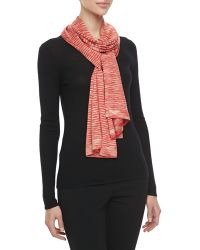 Michael Kors Spacedye Knit Scarf - Lyst