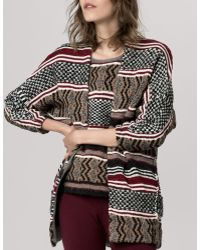 Maje Gozilla Cardigan Sweater  - Lyst