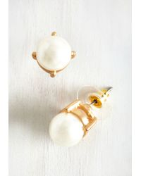 Ana Accessories Inc - Gleam In Your Style Earrings In Pearl - Lyst