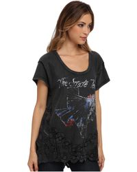 Free People The Graphic Stone Tee - Lyst