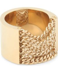 Chloé - Delfine Draped Chain Ring - Lyst