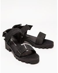 Cheap Monday Go Velcro in Black - Lyst