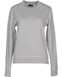 Cheap Monday Sweatshirt gray - Lyst
