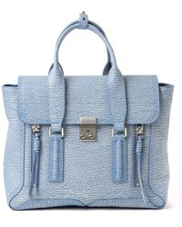3.1 Phillip Lim Textured Mini Pashli Bag - Lyst