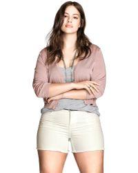 H&M - + Denim Shorts - Lyst