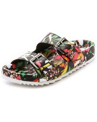 Ash Up Two Band Sandals - Multi - Lyst