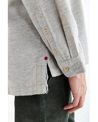 Koto - Ostro Drop-Tail Button-Down Shirt - Lyst