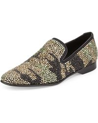 Donald J Pliner Pascow Mens Camobeaded Loafer - Lyst