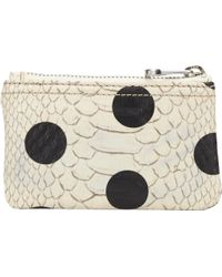 Marc By Marc Jacobs Dotty Snake Ziptop Pouch - Lyst
