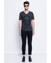 Zadig & Voltaire Man T Shirt Terak Overdyed - Lyst