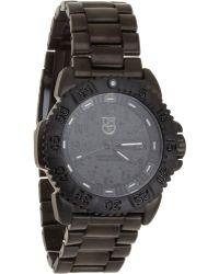 Luminox - Navy Seal Colormark Chronograph Watch - Lyst