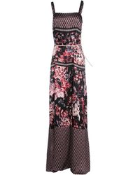 Liu Jo Long Dress - Lyst