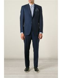 Canali Classic Two Piece Suit - Lyst