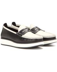 Rag & Bone   Tanja Leather Platform Loafers   Lyst