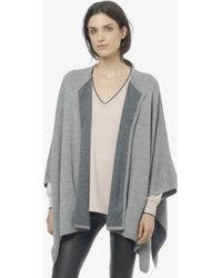 Vince Double Faced Wool Cape - Lyst