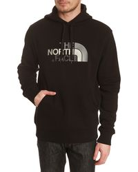 The North Face Drewpeak Sweater with Black Hood - Lyst