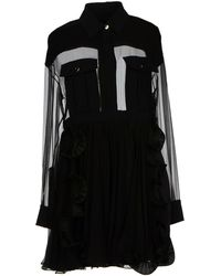 Emanuel Ungaro Short Dress - Lyst
