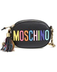 Moschino 'Rainbow Letters' Crossbody Bag - Lyst