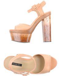 Rachel Zoe Pink Sandals - Lyst