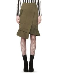 Alexander Wang | Exclusive Parka Pencil Skirt | Lyst