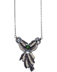 Deepa Gurnani Angelic Pendant Necklace - Lyst